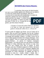 L'ÉPÉE FLAMBOYANTE des Francs-Maçons