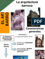 02 Arte Barroco Arquitecturacaractersticas Genera Les Ppt 1640