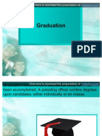 PPT Presentation for Graduation