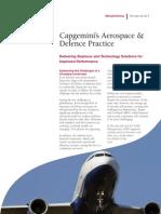Capgemini s Aerospace Defence Practice