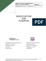 Appendix G - Specification for Flooring