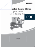 User Manual Screw Chiller Water Cooled