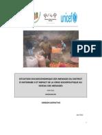Situation socioéconomique des ménages dans le District d'Antsirabe II et impact de la crise sociopolitique au niveau des ménages (PADR, ROR, UNDP, UNICEF/2011)