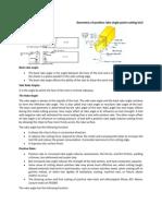 Geometry of Positive Rake Single Point Cutting Tool