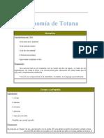 Gregorio Gastronomía de Totana