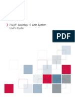 PASW Statistics 18 Core System User's Guide