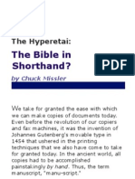 The Bible in Shorthand – Chuck_Missler