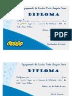 diplomas concurso de soletração