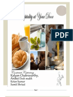 Hospitality and Contract Catering