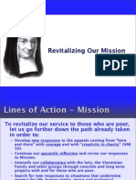 Revitalizing Our Mission