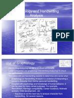 Graphology and Handwriting Analysis1
