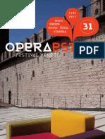 OperaEstate Festival Programma 2011