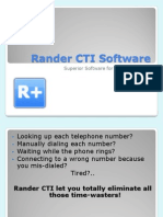 Rander CTI Software