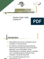 Clusters Nanoelec