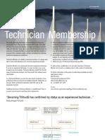 Technician Member Leaflet