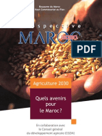 Prospective Maroc 2030 Agriculture