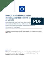 6 Manual_elaboración_Programaciones docentes JUNIO 2010