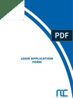 Personal Loan Application Form Final