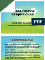 Modal Insan & Kerjaya Guru