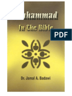 36635704 Muhammad Peace Be Upon Him in the Bible