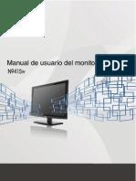 Manual Monitor AOC