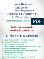 7 Steps in Developing HRM Strategy