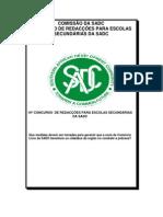 CONCURSO  DE REDACÇÕES PARA ESCOLAS SECUNDÁRIAS DA SADC