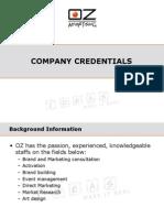 Oz Credentials 2008