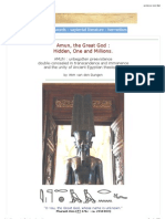 Ancient Egypt - Amun and the One, Great & Hidden