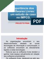 Importancia dos Softwares Livres_Um estudo de caso no IMPCG