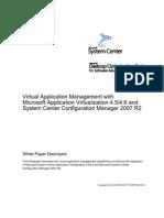App-V and SCCM 2007 R2