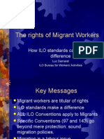 The Rights of Migrant Workers Seoul November 2010