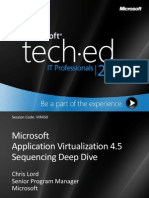App-V 4.5 Sequencing Deep Dive