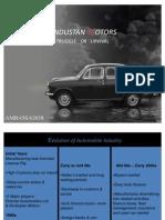 Hindustan Motors Survival