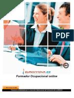Curso Formador Ocupacional Online