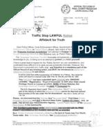 RT 2008-040493 Traffic Stop Lawful Notice