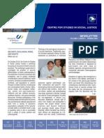 CSSJ Newsletter Vol 4 No 2 (Spring 2009)