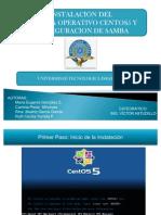 Instalacion Centos y Configuracion Samba