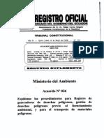 Acuerdo Ministerial No. 026
