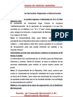 Resumen de Noticias Matutino 23-06-2011