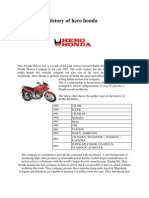 History of Hero Honda