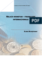 Curs Relatii monetar-financiare internationale