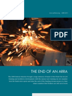 The End of an ARRA