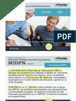 Presentación Master MIDPN - 3ª Edicion