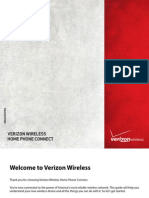 Verizon Wireless Home Phone Connect User Manual