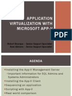 Application Virtualization With Microsoft App-V