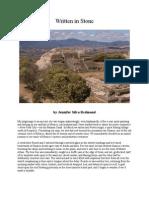 """Oaxaca Story, """"Written In Stone"""""""