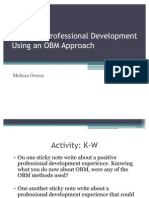 Effective Professional Development