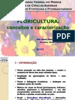 Aula Introdução à Floricultura UFPR 2011/1