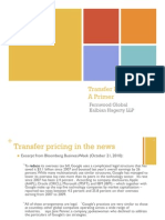 Transfer Pricing Overview 2011